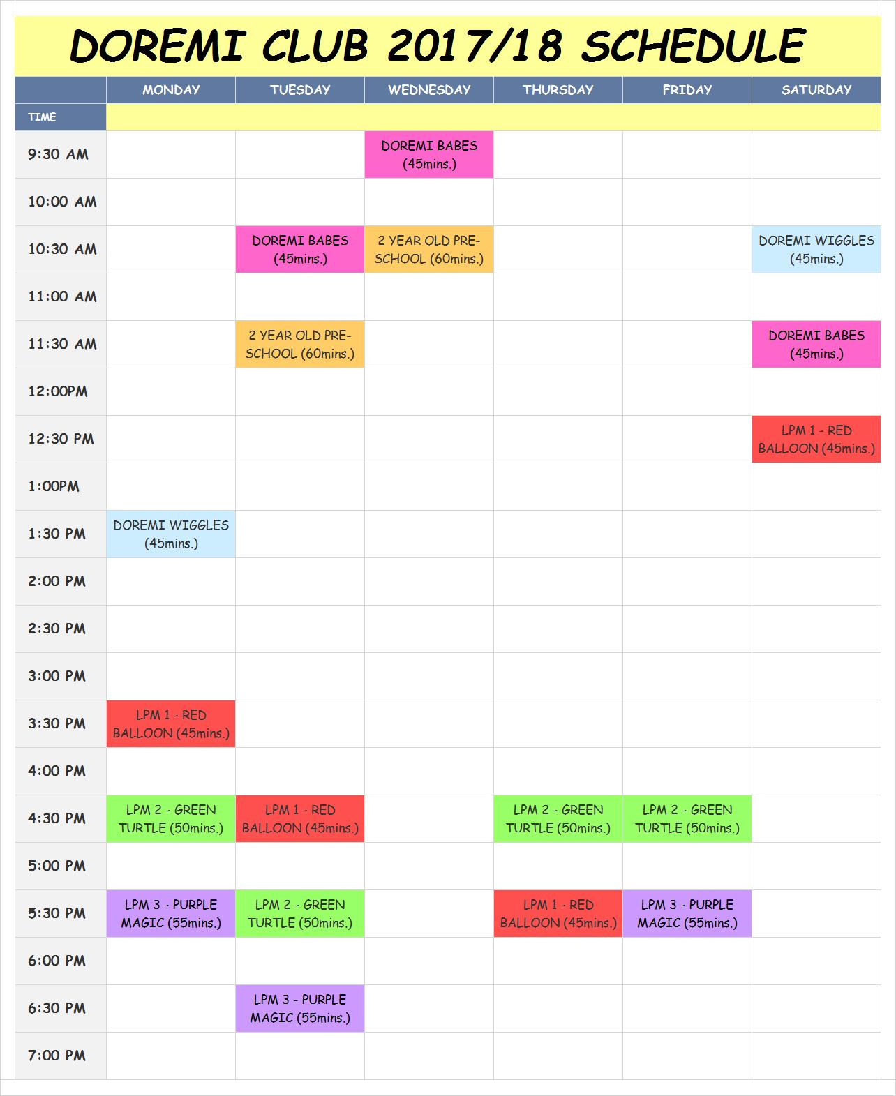 2017-18 schedule mk.II